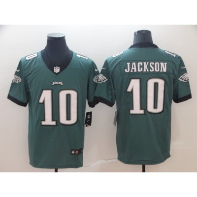 Nike Eagles 10 DeSean Jackson Green Vapor Untouchable Limited Men Jersey