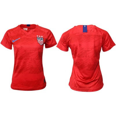 2019-20 USA Away Thailand Soccer Women Jersey