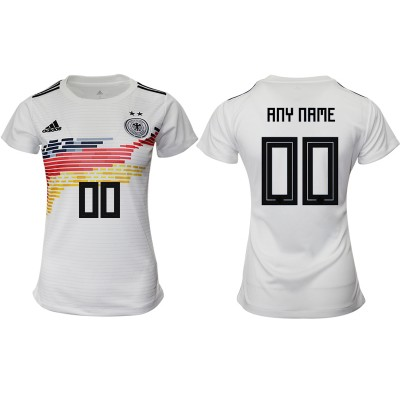 2019-20 Germany Customized Home Soccer Women Jersey