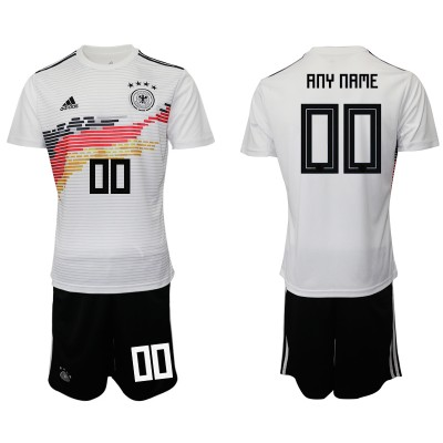 2019-20 Germany Customized Home Soccer Men Jersey
