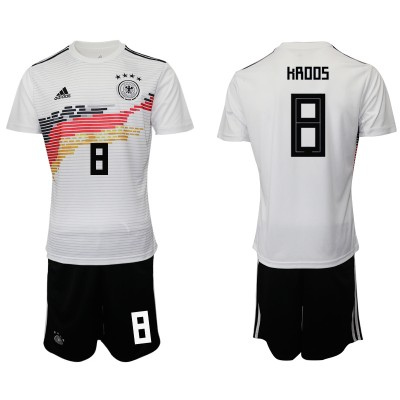2019-20 Germany 8 HROOS Home Soccer Men Jersey