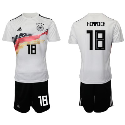 2019-20 Germany 18 HIMMICH Home Soccer Men Jersey
