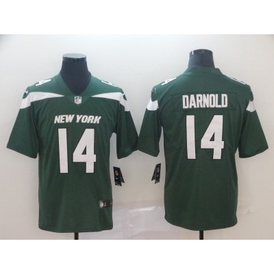 Nike Jets 14 Sam Darnold Green New 2019 Vapor Untouchable Limited Men Jersey
