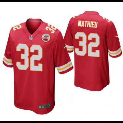 Nfl Chiefs 32 Tyrann Mathieu Red Elite Men Jersey