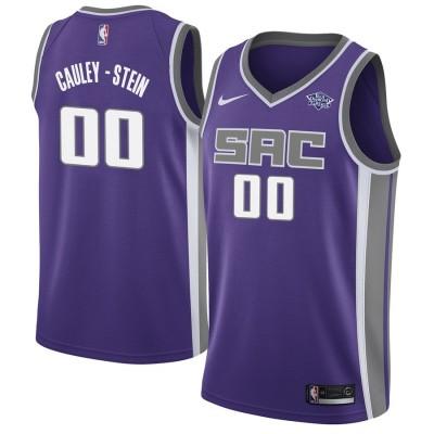 NBA Kings 00 Willie Cauley-Stein Purple Nike Men Jersey