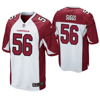 NFL Arizona Cardinals 56 Terrell Suggs White Elite Men Jersey