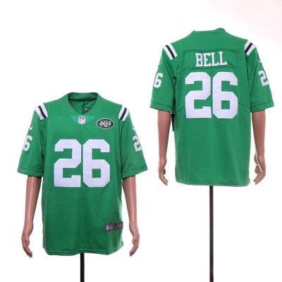 Nike Jets 26 Le'Veon Bell Green Color Rush Limited Men Jersey