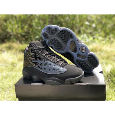 """Air Jordan 13""""Cap and Gown"""" Black Shoes"""