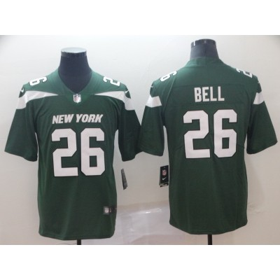 Nike Jets 26 Le'Veon Bell Green New 2019 Vapor Untouchable Limited Men Jersey