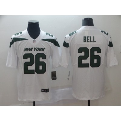 Nike Jets 26 Le'Veon Bell White New 2019 Vapor Untouchable Limited Men Jersey