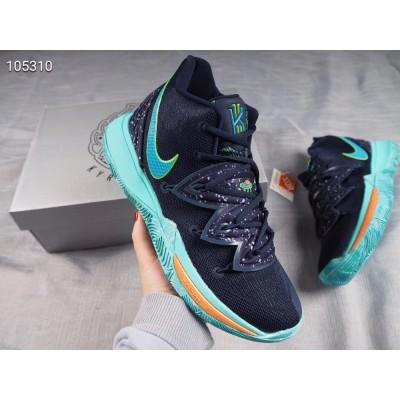 Nike Kyrie 5 Black Blue Shoes