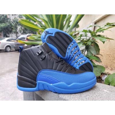 Air Jordan Retro 12 Royal Black Shoes