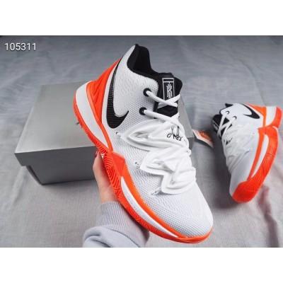 Nike Kyrie Kyrgios Court Vapor White Orange Shoes