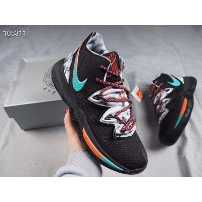 Nike Kyrie 5 Black Multi-Color Shoes