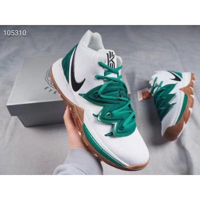 Nike Kyrie 5 Celtics PE White Green Shoes