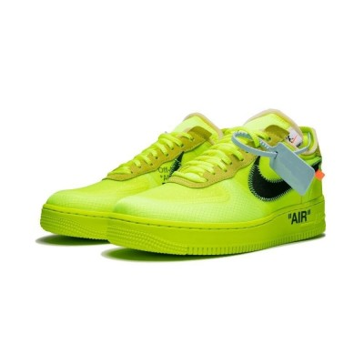 Nike Air Force 1 Low Off-White Volt Green Shoes