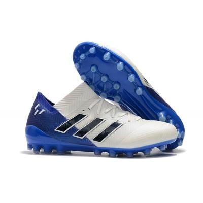 adidas Nemeziz Messi 18.1 AG White BLUE
