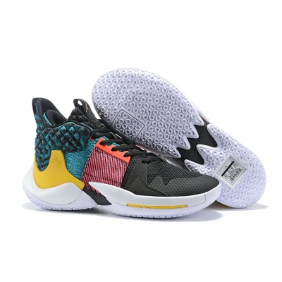 Russell Westbrook Jordan Why Not Zer0.2 Black Moon Shoes