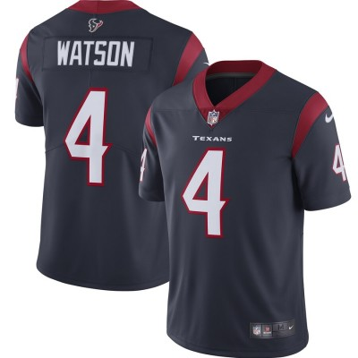 Nike Texans 4 Deshaun Watson Navy 2019 Vapor Untouchable Limited Youth Jersey