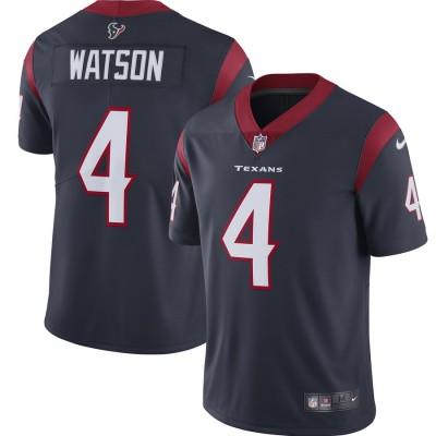 Nike Texans 4 Deshaun Watson Navy 2019 Vapor Untouchable Limited Women Jersey