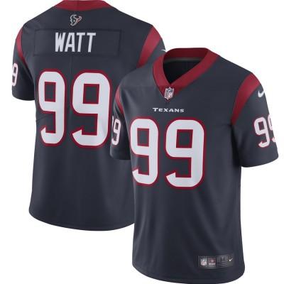 Nike Texans 99 J.J. Watt Navy 2019 Vapor Untouchable Limited Women Jersey