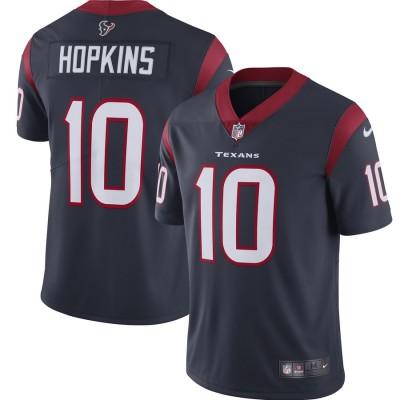 Nike Texans 10 DeAndre Hopkins Navy 2019 Vapor Untouchable Limited Men Jersey