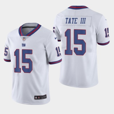 Nike Giants 15 Golden Tate III White Color Rush Limited Men Jersey