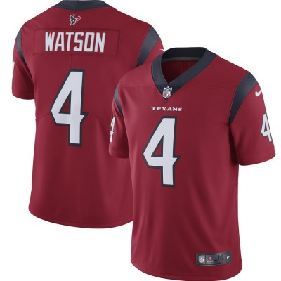 Nike Texans 4 Deshaun Watson Red 2019 Vapor Untouchable Limited Youth Jersey
