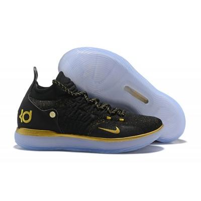 Nike KD 11 Black Gold Shoes
