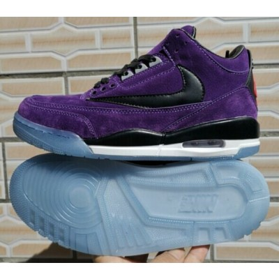Air Jordan 3 III Retro Purple Black Shoes