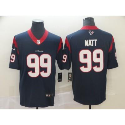 Nike Texans 99 J.J. Watt Navy 2019 Vapor Untouchable Limited Men Jersey
