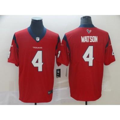 Nike Texans 4 Deshaun Watson Red 2019 Vapor Untouchable Limited Men Jersey