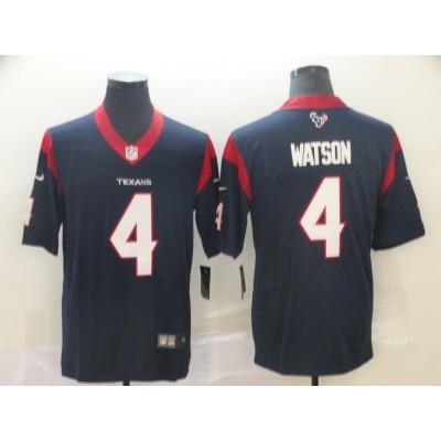 Nike Texans 4 Deshaun Watson Navy 2019 Vapor Untouchable Limited Men Jersey