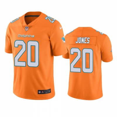 Nike Miami Dolphins 20 Reshad Jones Orange Color Rush Limited Men Jersey