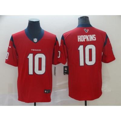 Nike Texans 10 DeAndre Hopkins Red 2019 Vapor Untouchable Limited Men Jersey