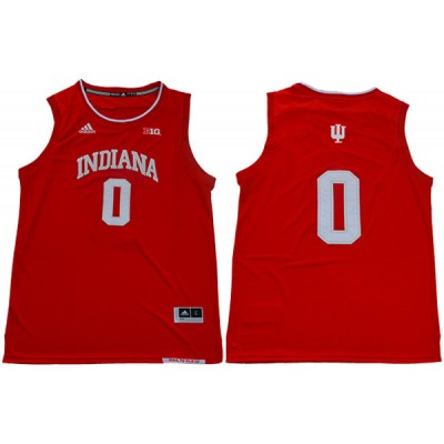 NCAA Indiana Hoosiers 0 Romeo Langford Red College Basketball Men Jersey