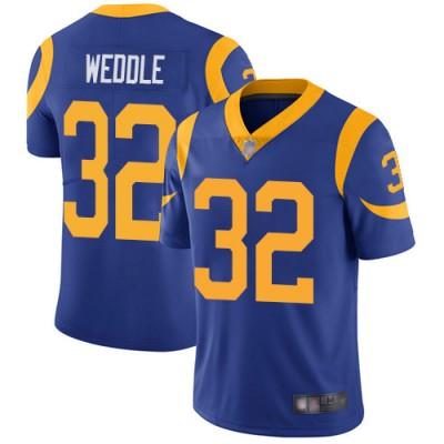 Nike Rams 32 Eric Weddle Royal Blue Vapor Untouchable Limited Men Jersey
