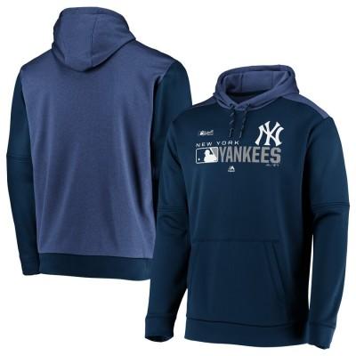 MLB New York Yankees Team Distinction Navy Pullover Hoodie
