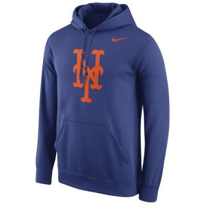New York Mets Pullover Hoodie Blue02
