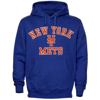 New York Mets Pullover Hoodie Blue