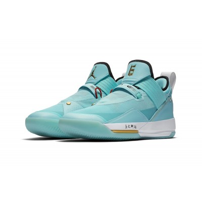 "Air Jordan 33 SE ""Guo Ailun"" Green Shoes"