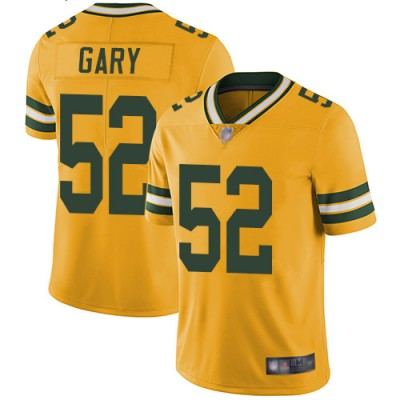 Nike Packers 52 Rashan Gary Yellow 2019 NFL Draft Vapor Untouchable Limited Men Jersey