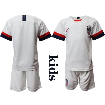 2019-20 United States Home Soccer Youth Jersey