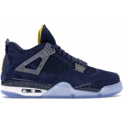 Air Jordan 4 Retro Michigan (PE) Shoes