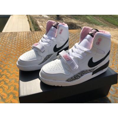 Air Jordan Legacy 312 White Pink Kids Shoes