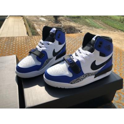 Air Jordan Legacy 312 NRG Storm Blue Kids Shoes