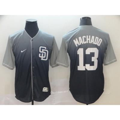 MLB Padres 13 Manny Gray Drift Fashion Men Jersey