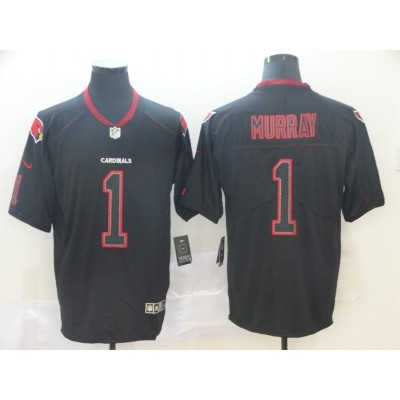 Nike Cardinals 1 Kyler Murray Black Shadow Legend Limited Men Jersey