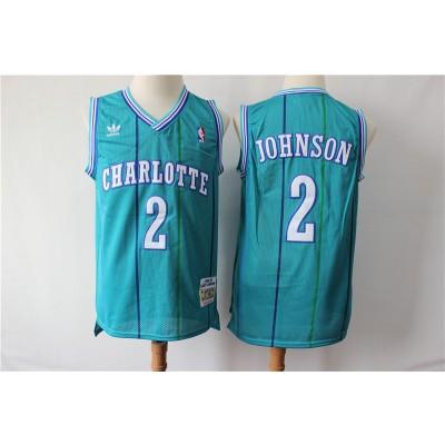 NBA Hornets 2 Frank Jackson Green 1992-93 Hardwood Classics Men Jersey