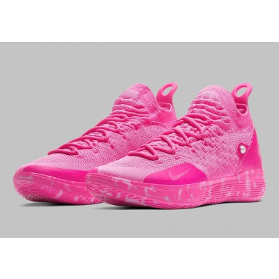 "Nike KD 11 ""Aunt Pearl"" Pink Shoes"